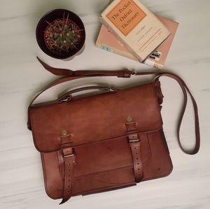 Other - Vintage Leather Messenger Bag